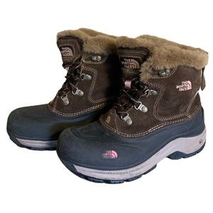 The North Face Brown Winter Boots - Girl's Size 5